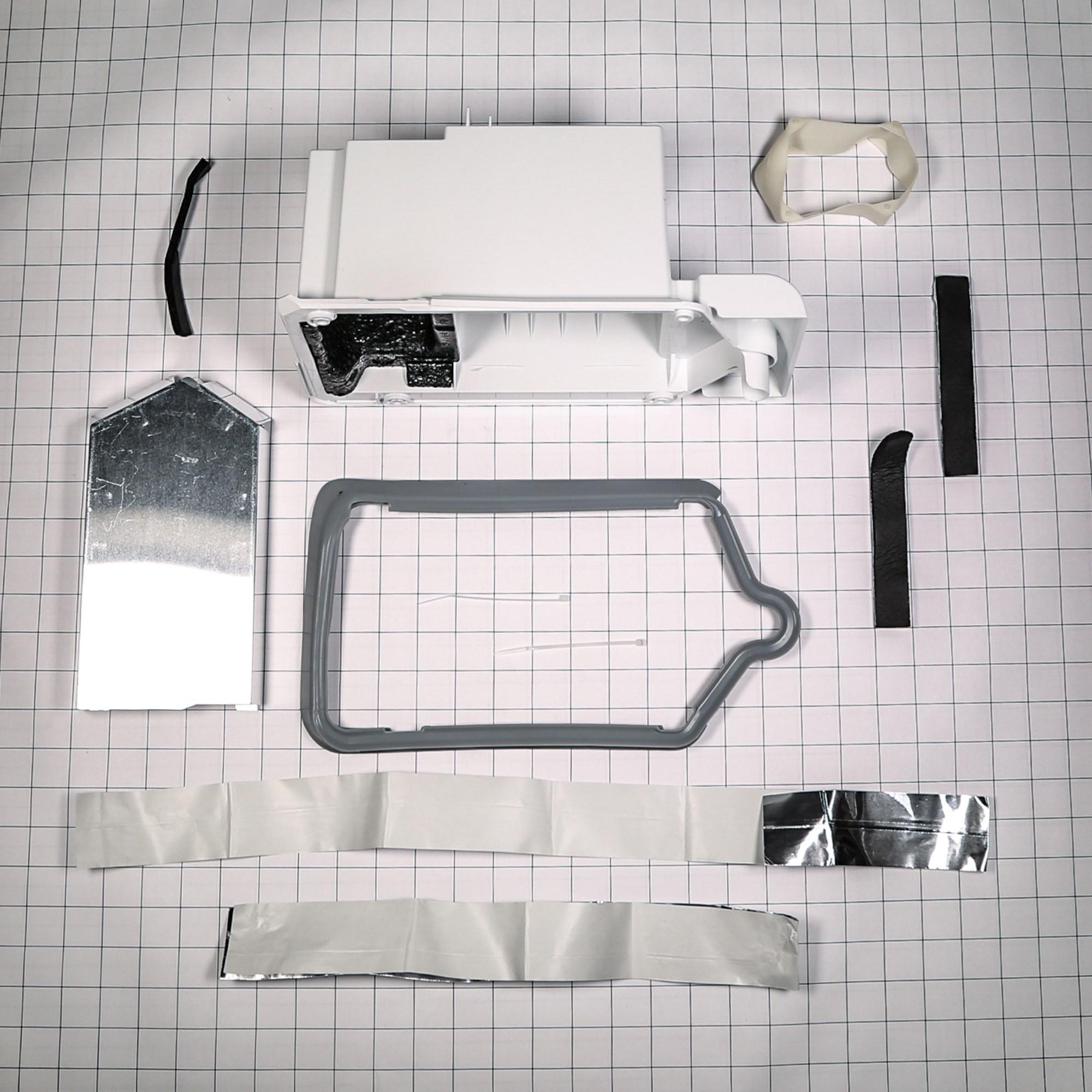 Genuine Frigidaire 5303918784 Refrigerator Ice Maker Housing and Gasket Kit