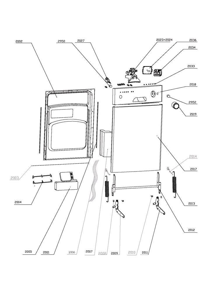 mini fridge compact diagrams