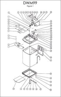 dwm99w danby click to view diagram