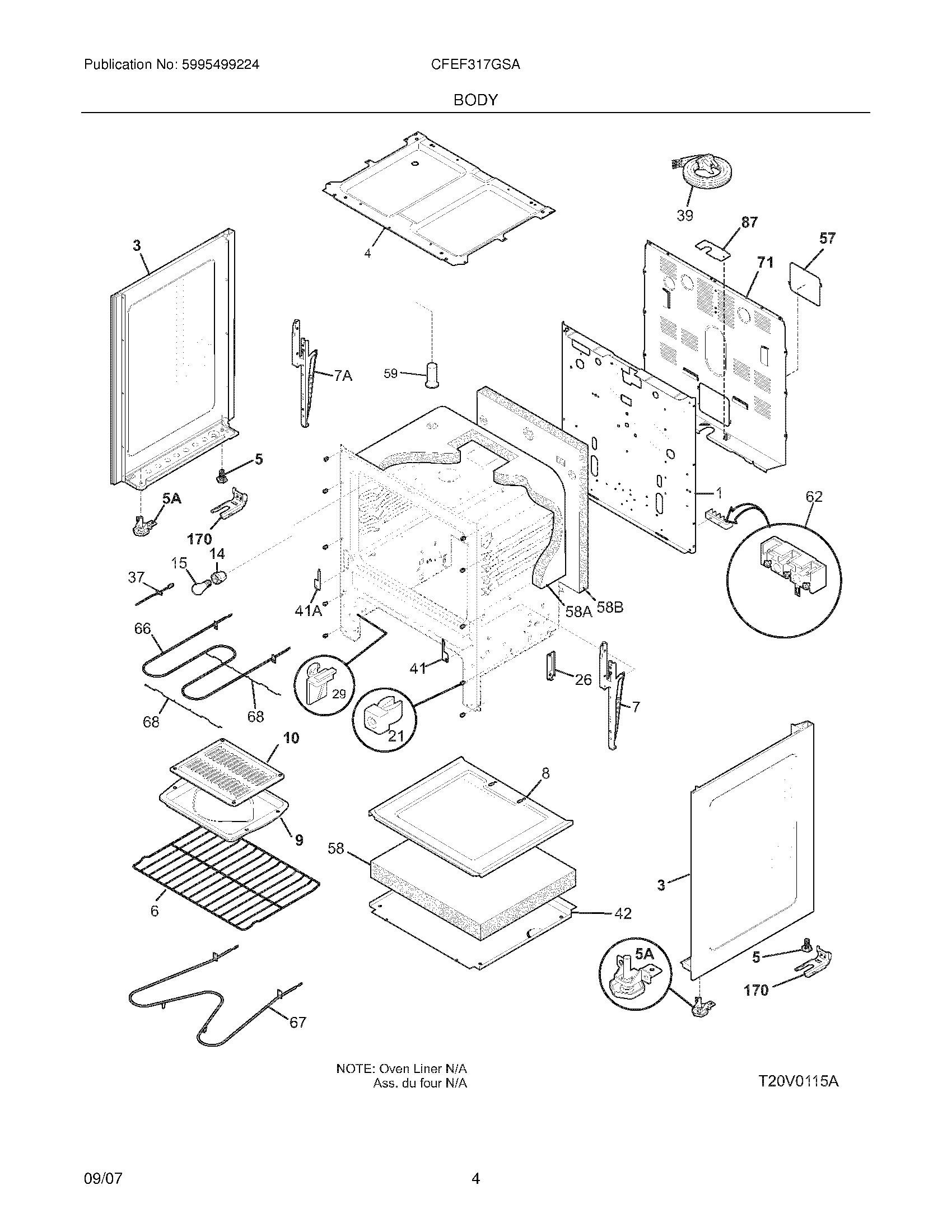 Chambers Stove Parts Diagram