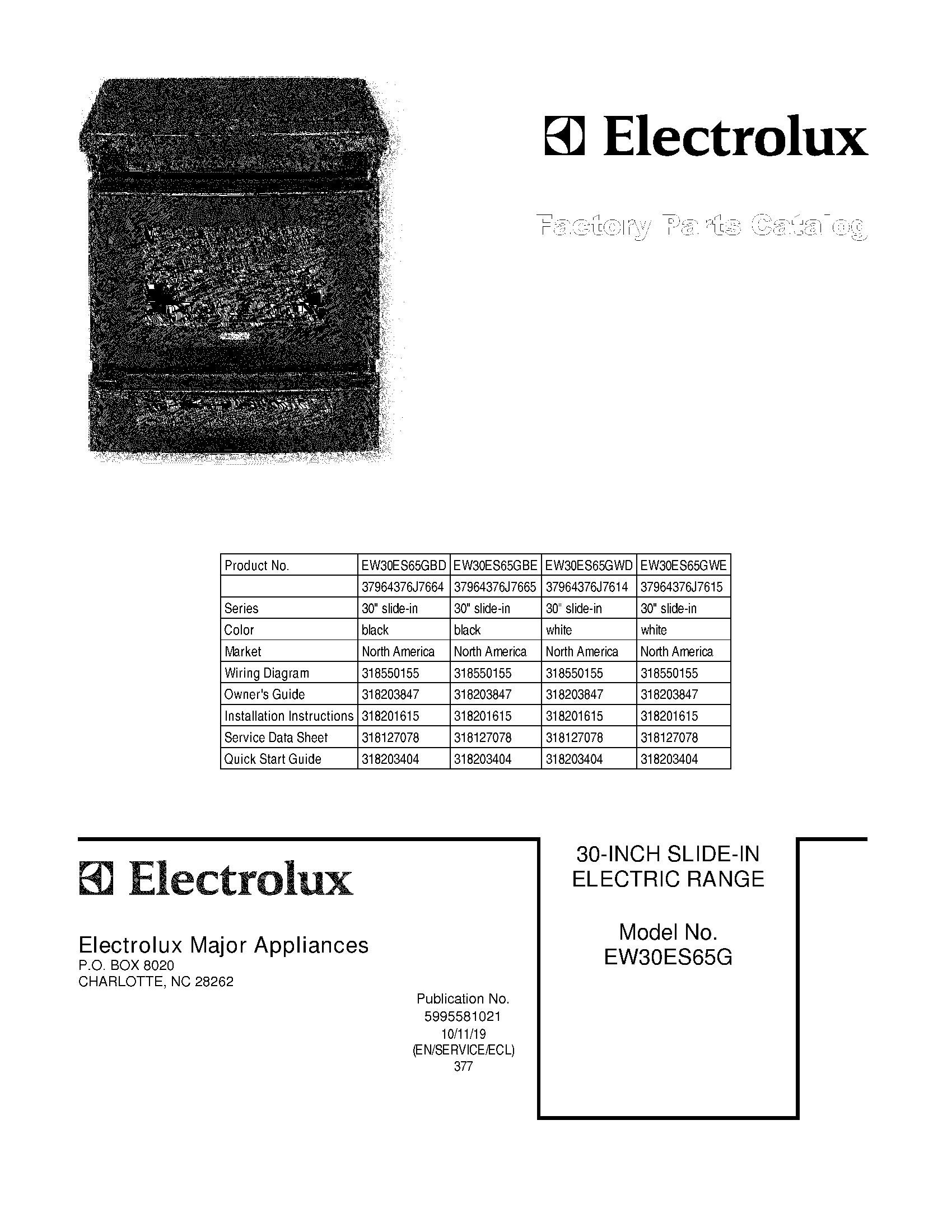 Electrolux Ew30es65gs Wiring Diagram : 36 Wiring Diagram