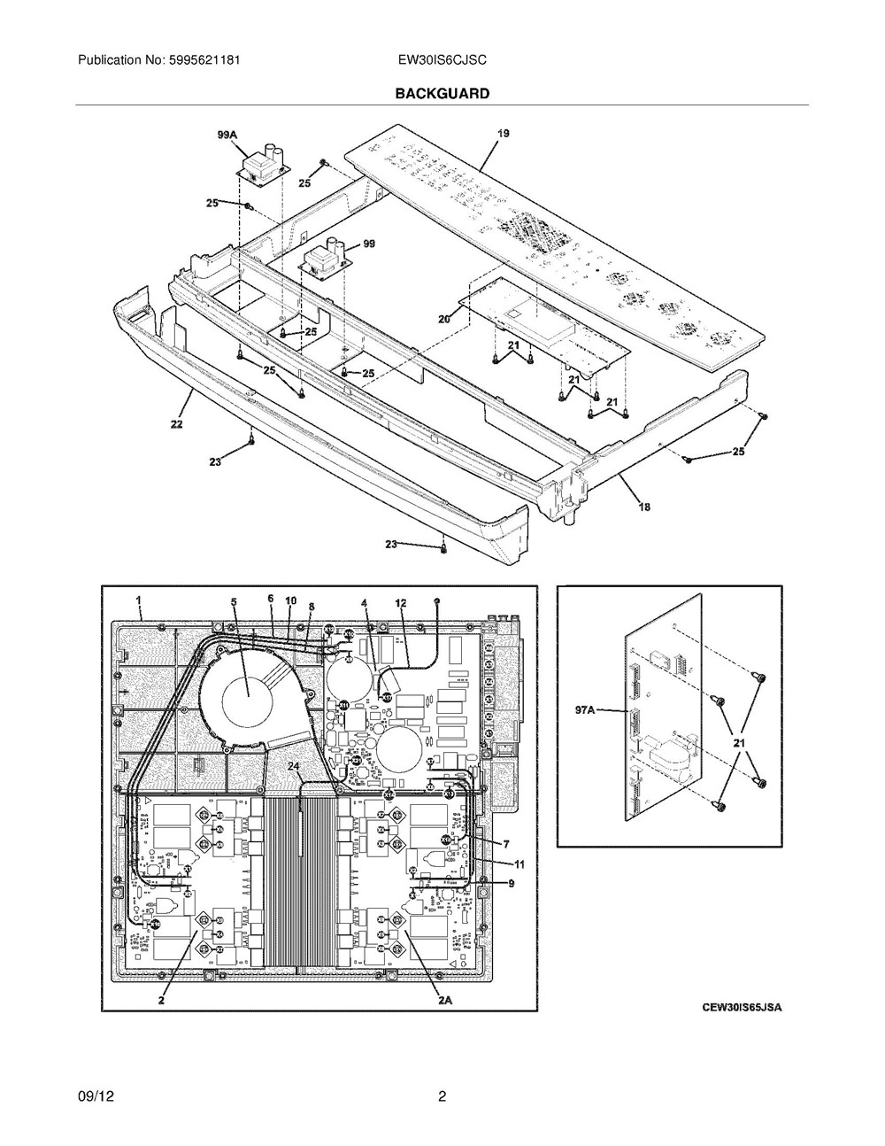 Ew30is6cjsc Frigidaire Company Backguard 05body 07top Drawer 09door 01cover 10wiring Diagram