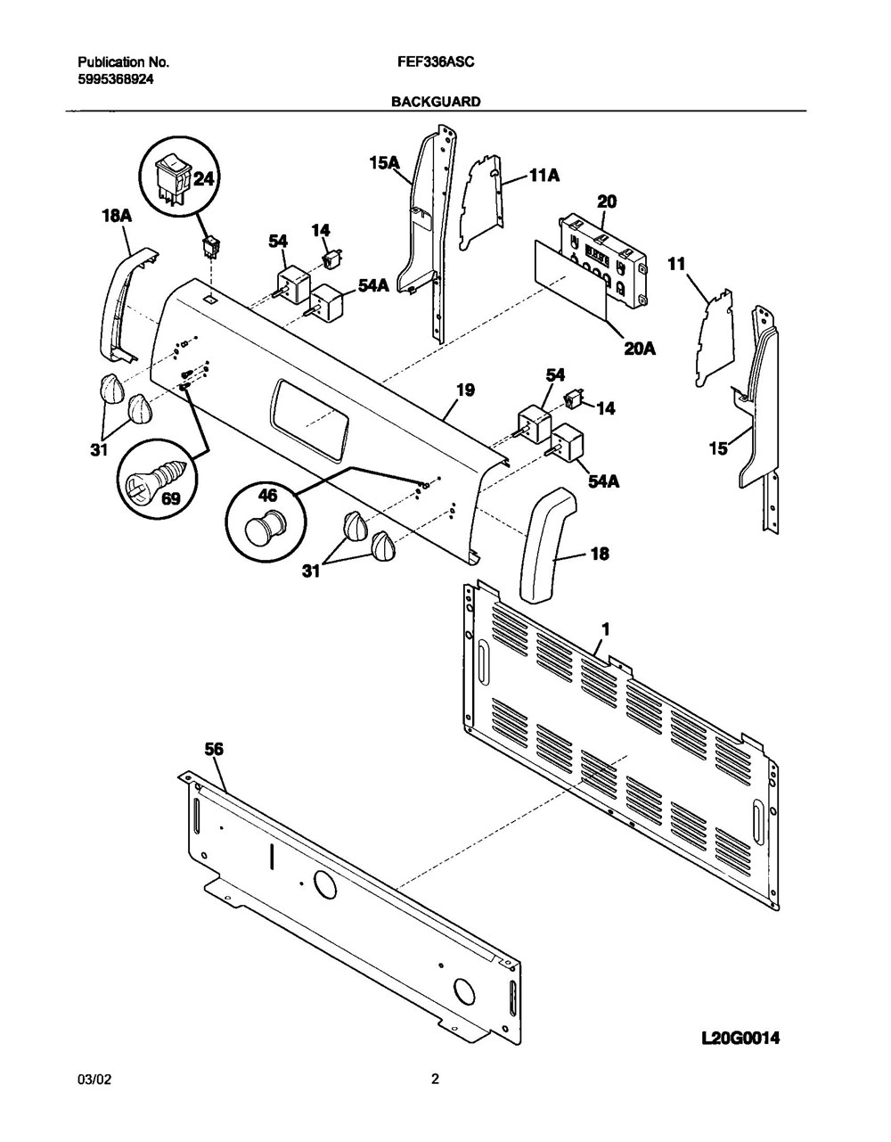 Fef336asc Frigidaire Company 07top Drawer 09door 01cover 10wiring Diagram 11wiring