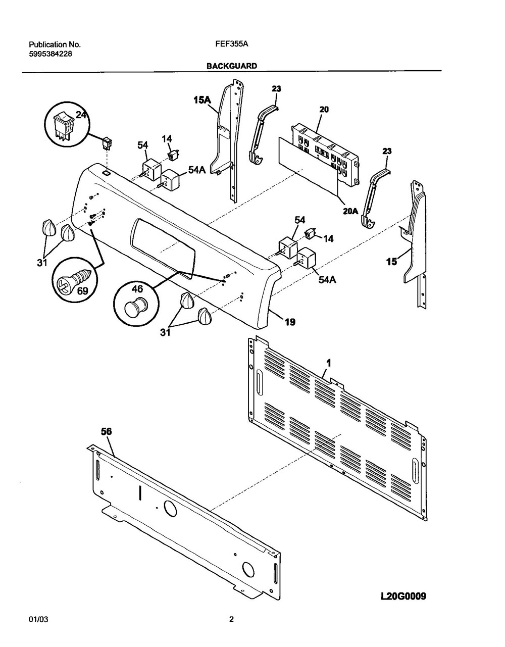 Fef355asf Frigidaire Company 07top Drawer 09door 01cover 10wiring Diagram 11wiring