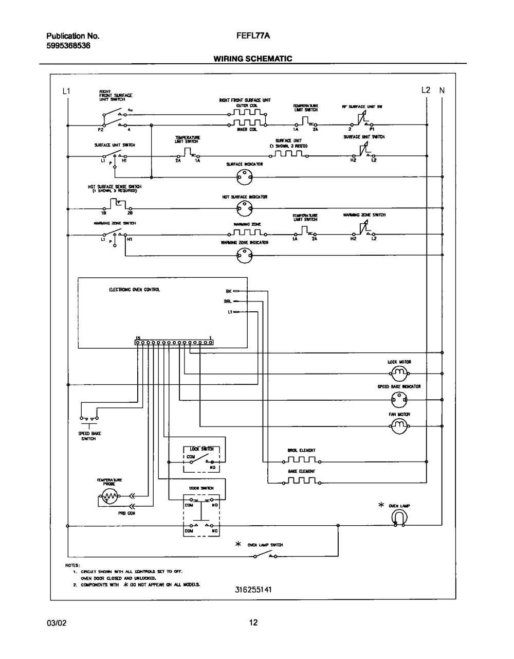 Fefl77abe Frigidaire Company Backguard 05body 07top Drawer 09door 01cover 10wiring Diagram