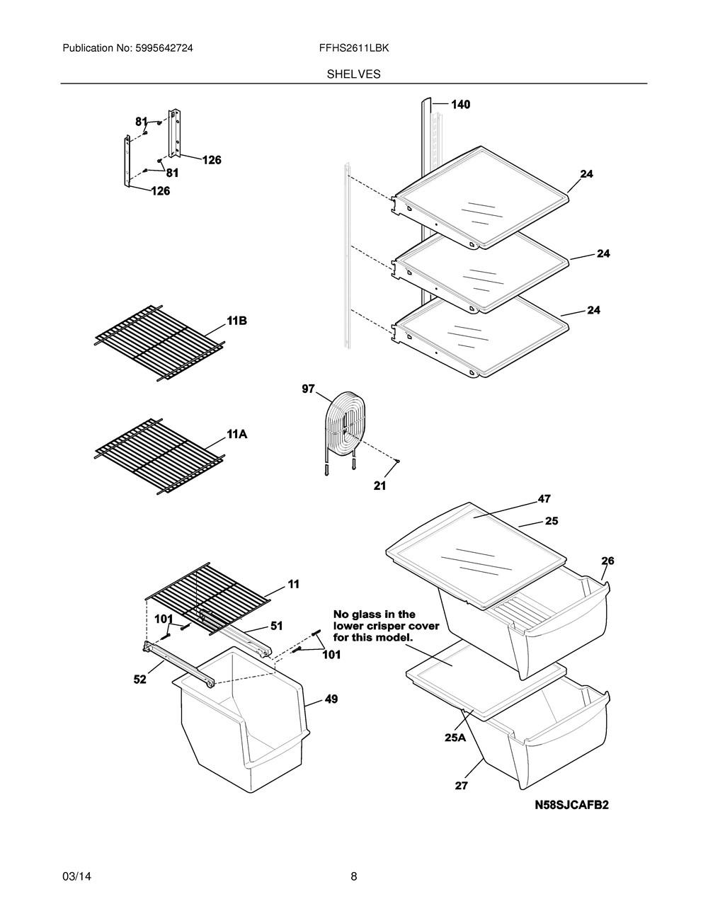 Ffhs2611lbk Frigidaire Company Range Wiring Diagram