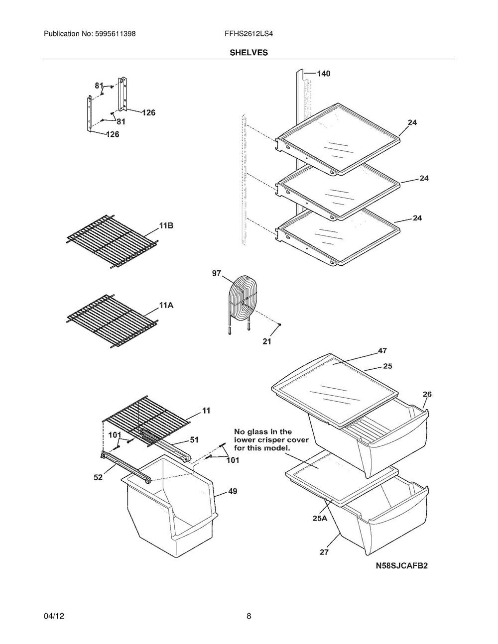 Ffhs2612ls4 Frigidaire Company Stove Wiring Diagram