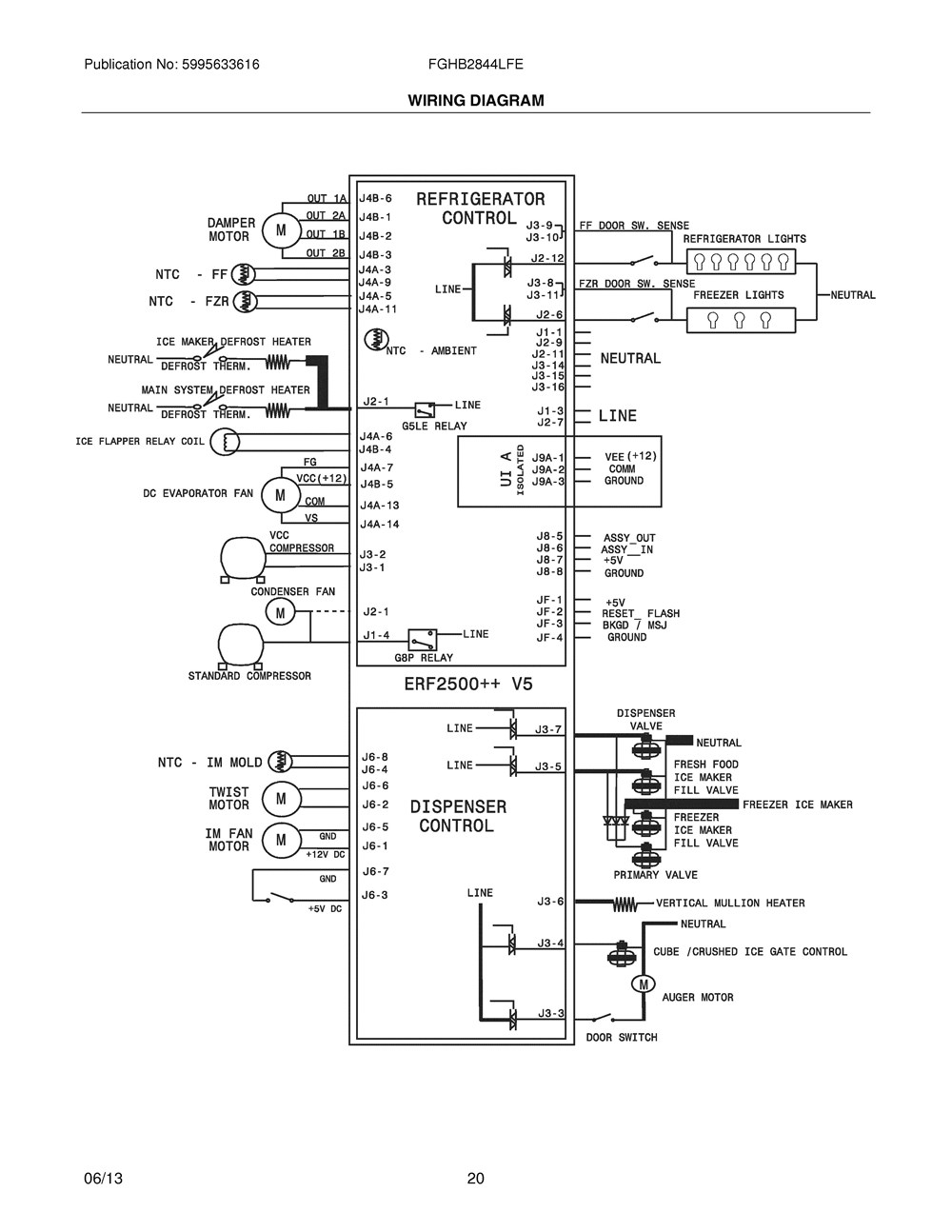 Magnificent wiring diagram for ge refrigerator pictures whirlpool fridge wiring diagram pickup wiring diagram schecter c 7 asfbconference2016 Image collections