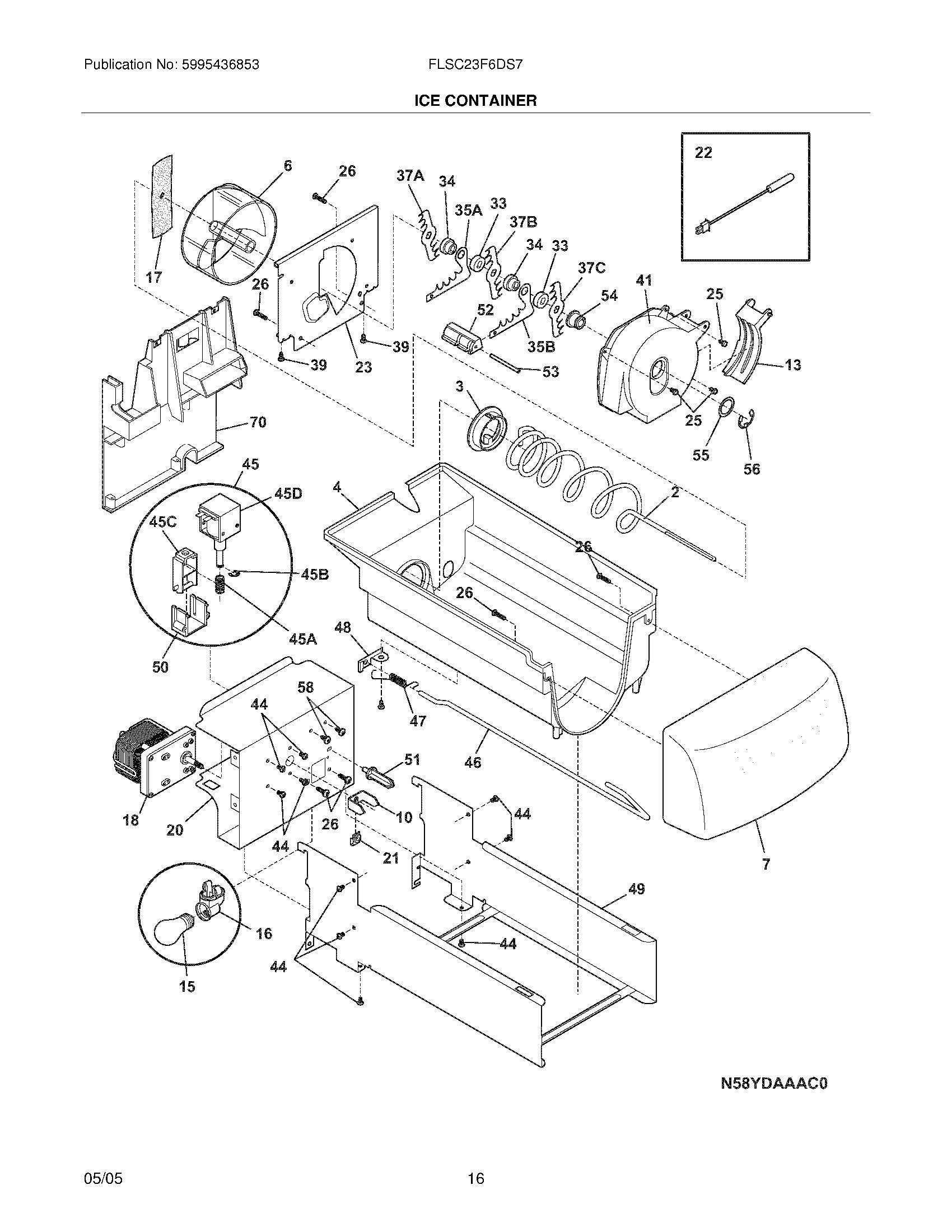 Ge Refrigerator Wiring Diagram Similiar Schematic Of Whirlpool Wirdig Ice Maker