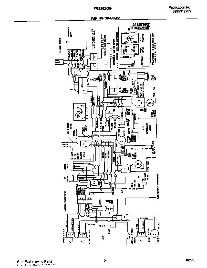 Wiring Diagram For Electrolux 2100 Fireplace Insert