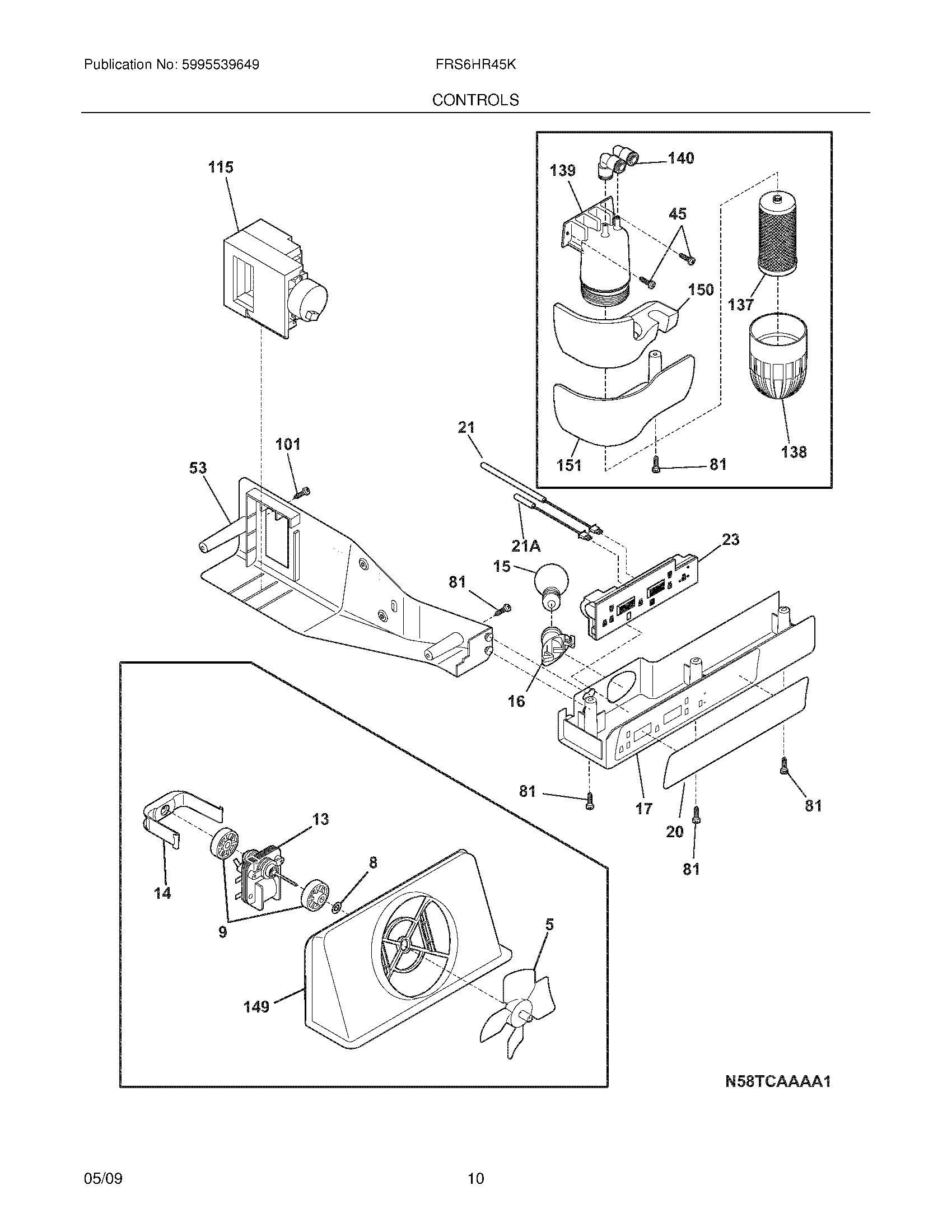 magic chef refrigerator parts diagrams