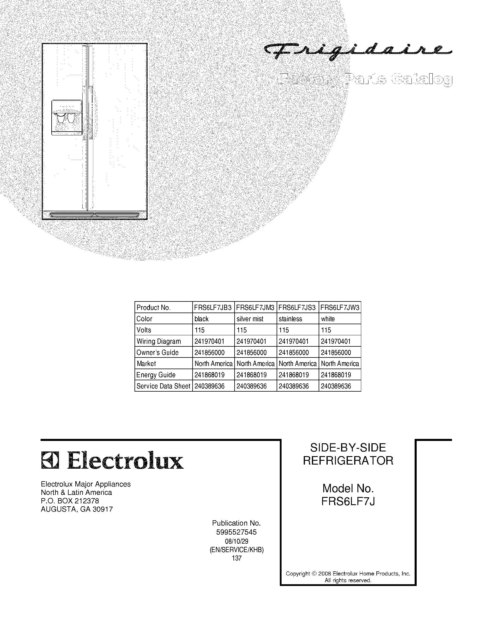 ElectroluxImg_19000101 20150717_00096855 frigidaire refrigerator wiring diagram dolgular com wiring diagram for gler341as2 at edmiracle.co