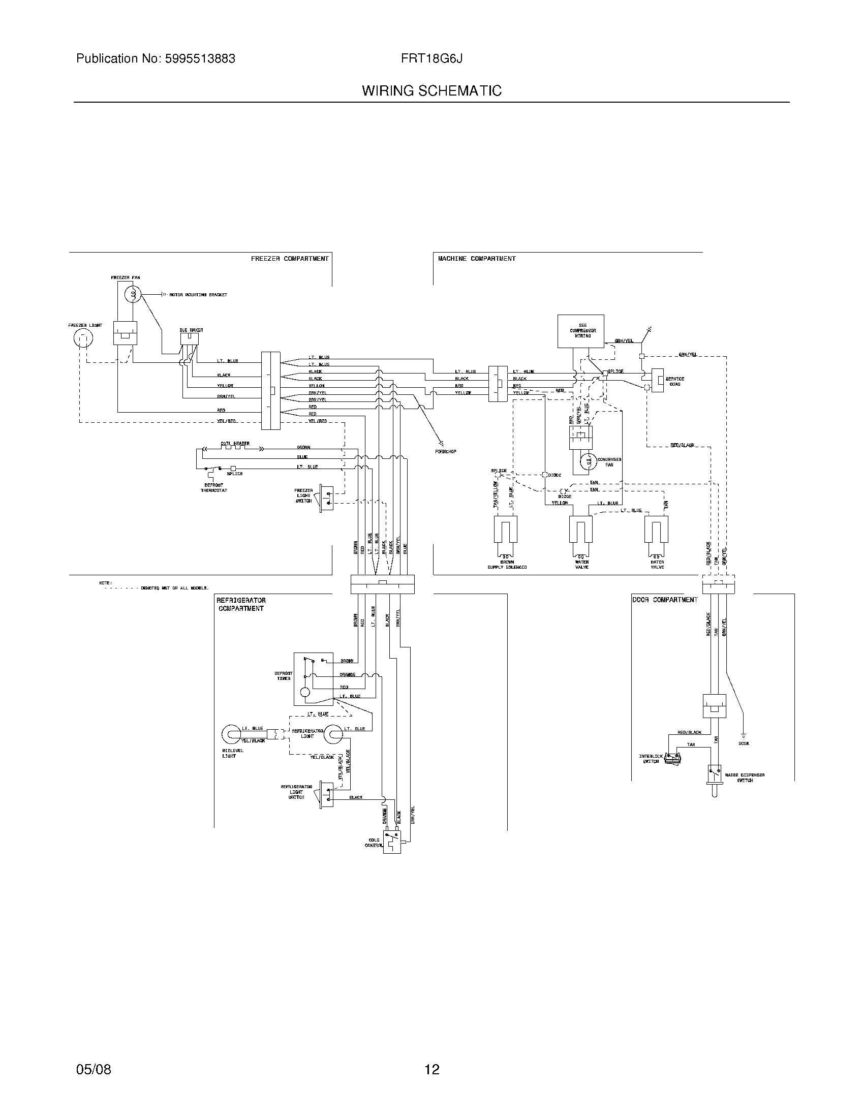 frt18g6jw1 frigidaire pany Frigidaire Wiring Schematic 12 wiring schematic