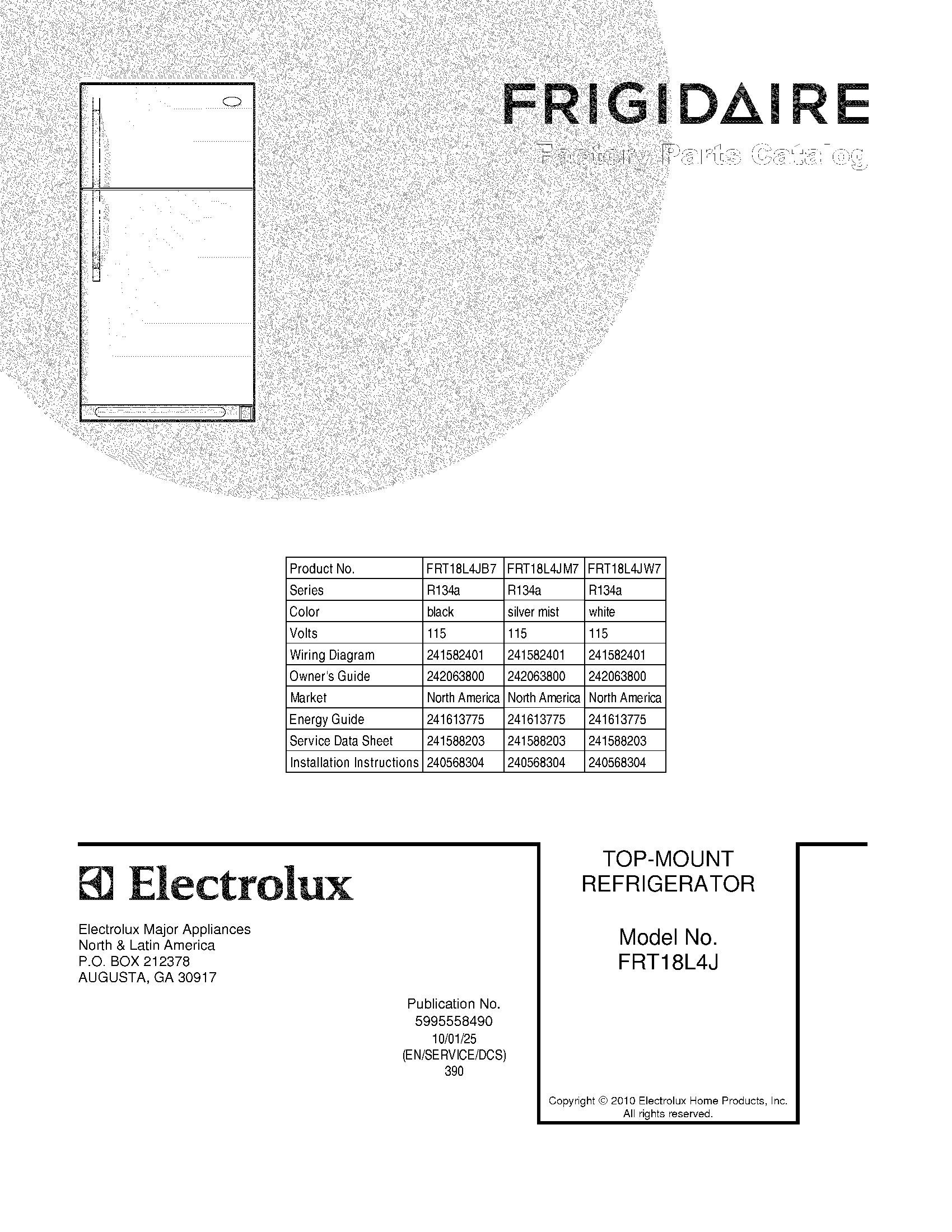 ElectroluxImg_19000101 20150717_00102196?width\=206 frigidaire refrigerator wiring schematic model frt18l4j frigidaire ice maker wiring diagram at virtualis.co