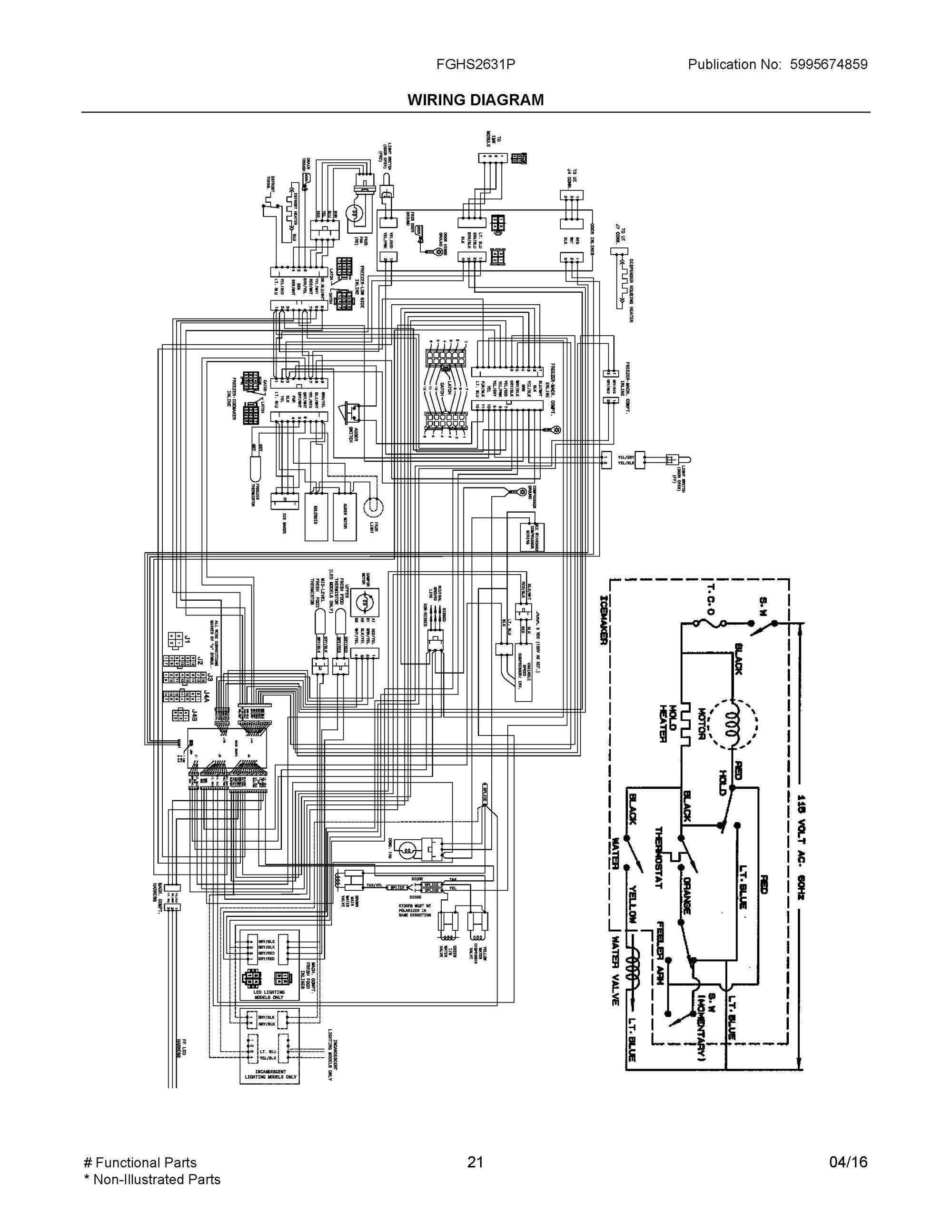 Frigidaire Dehumidifier Wiring Diagram Honeywell