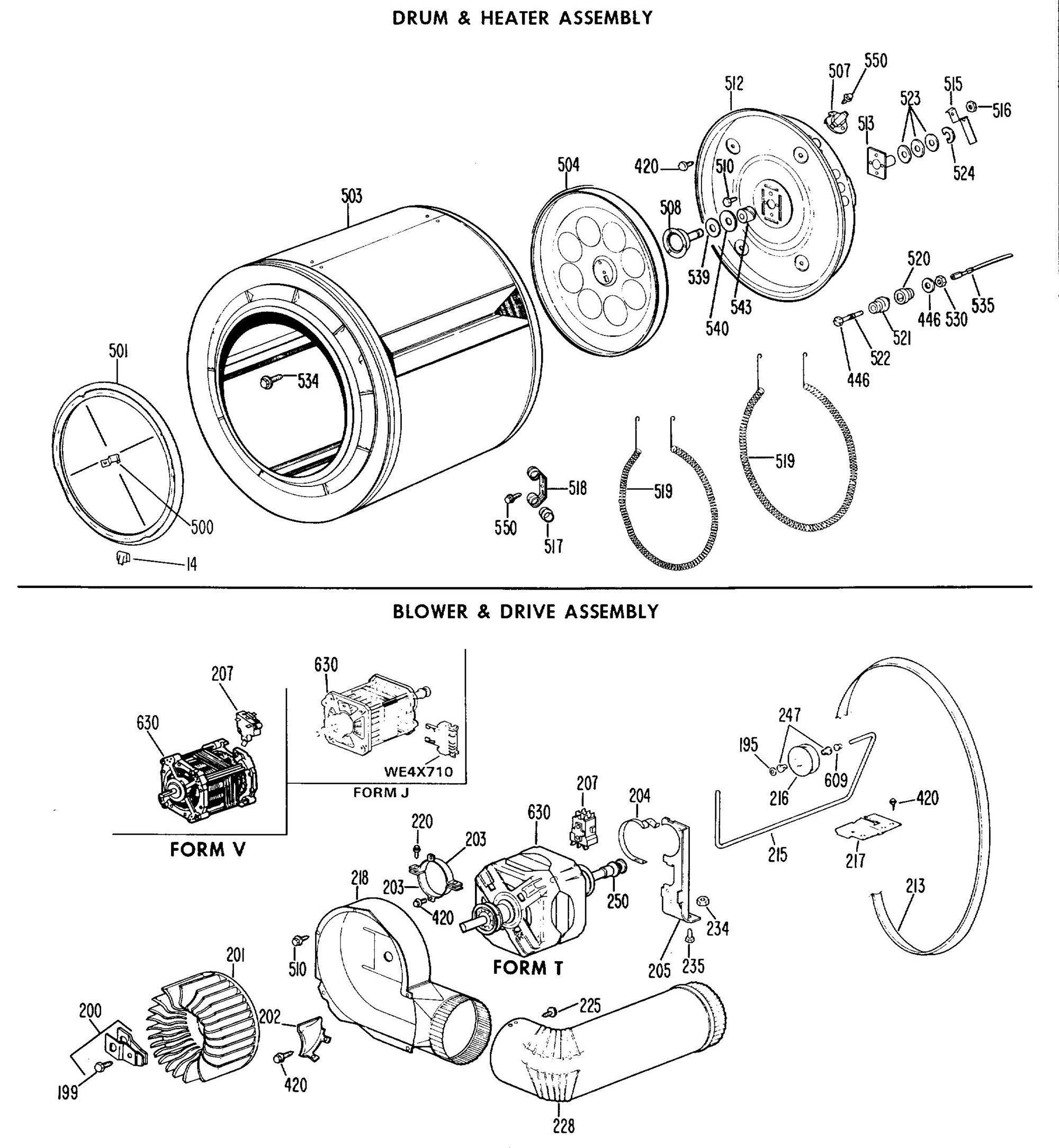 Dde7109vml drum heater assembly general electric appliance click to view diagram pooptronica Gallery