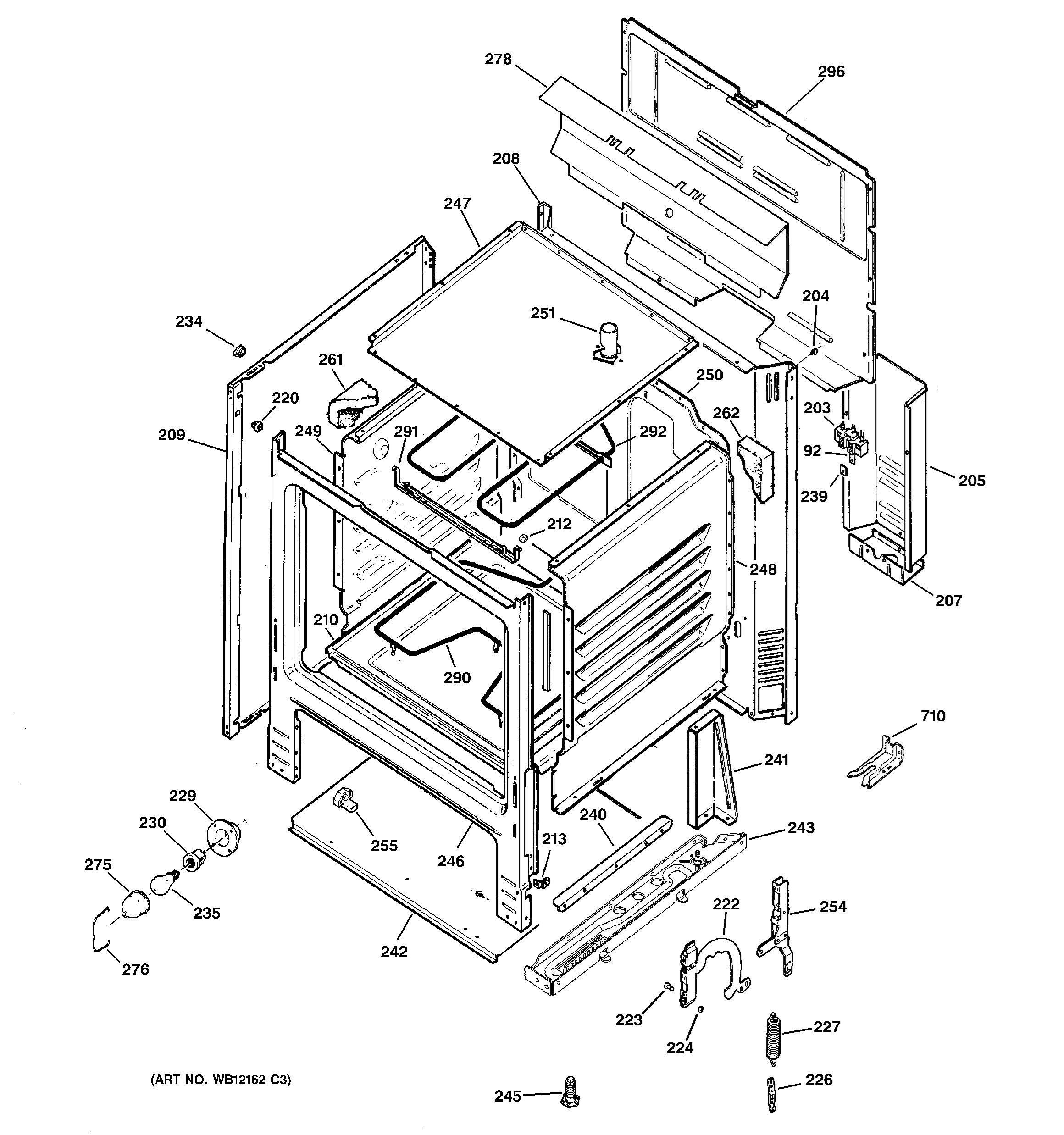 Ge Jbs07h1bb Stove Wiring Diagram Real General Electric Dryer Rh Apwagner Com Profile