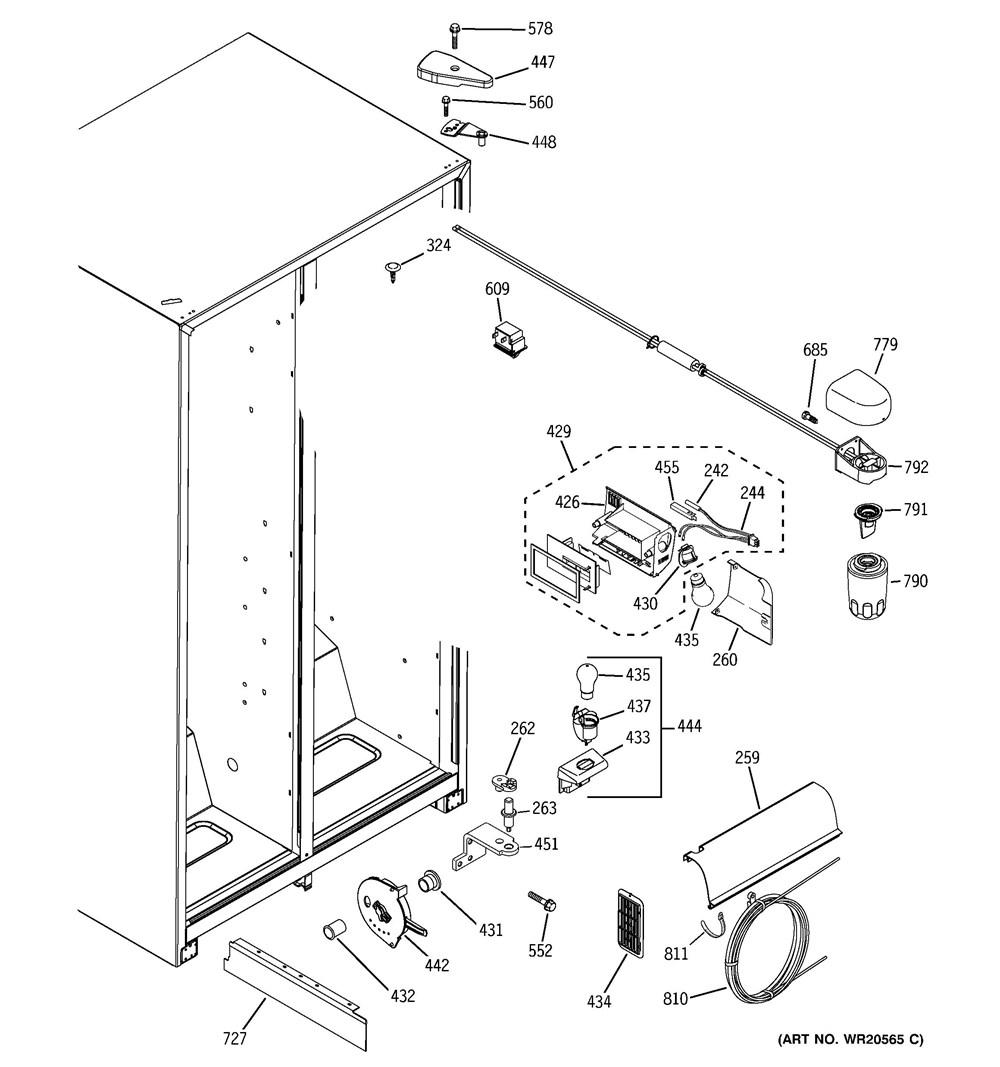 GSL25JFXNLB | General ElectricAPWagner Parts