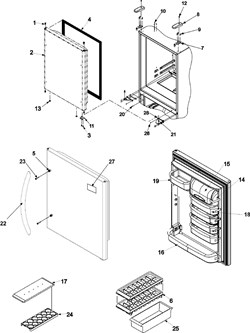 Kitchenaid Trash Compactor Parts Diagram, Kitchenaid, Free