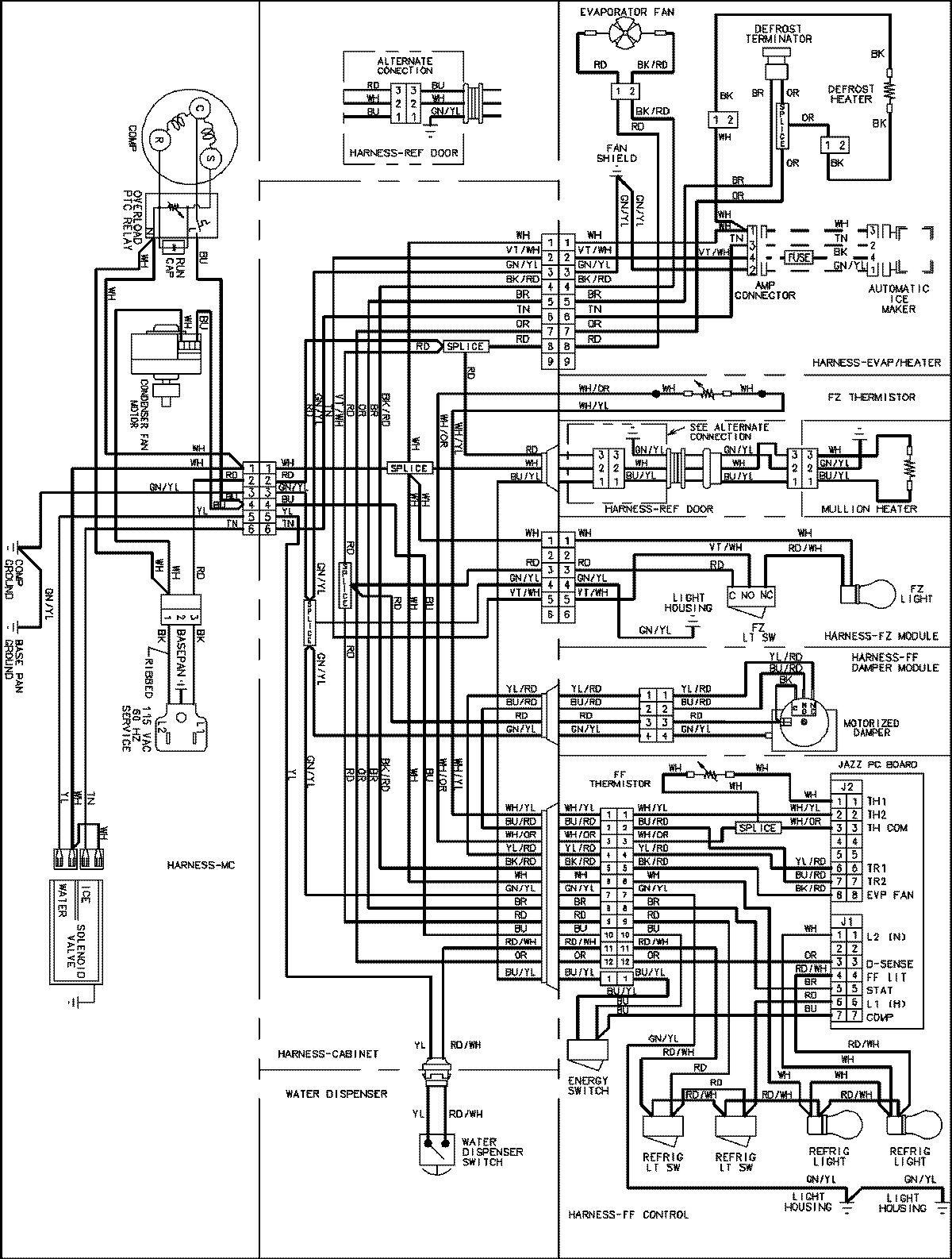 Wiring Diagram For  Door Chimes Solidfonts - Wiring diagram doorbell transformer
