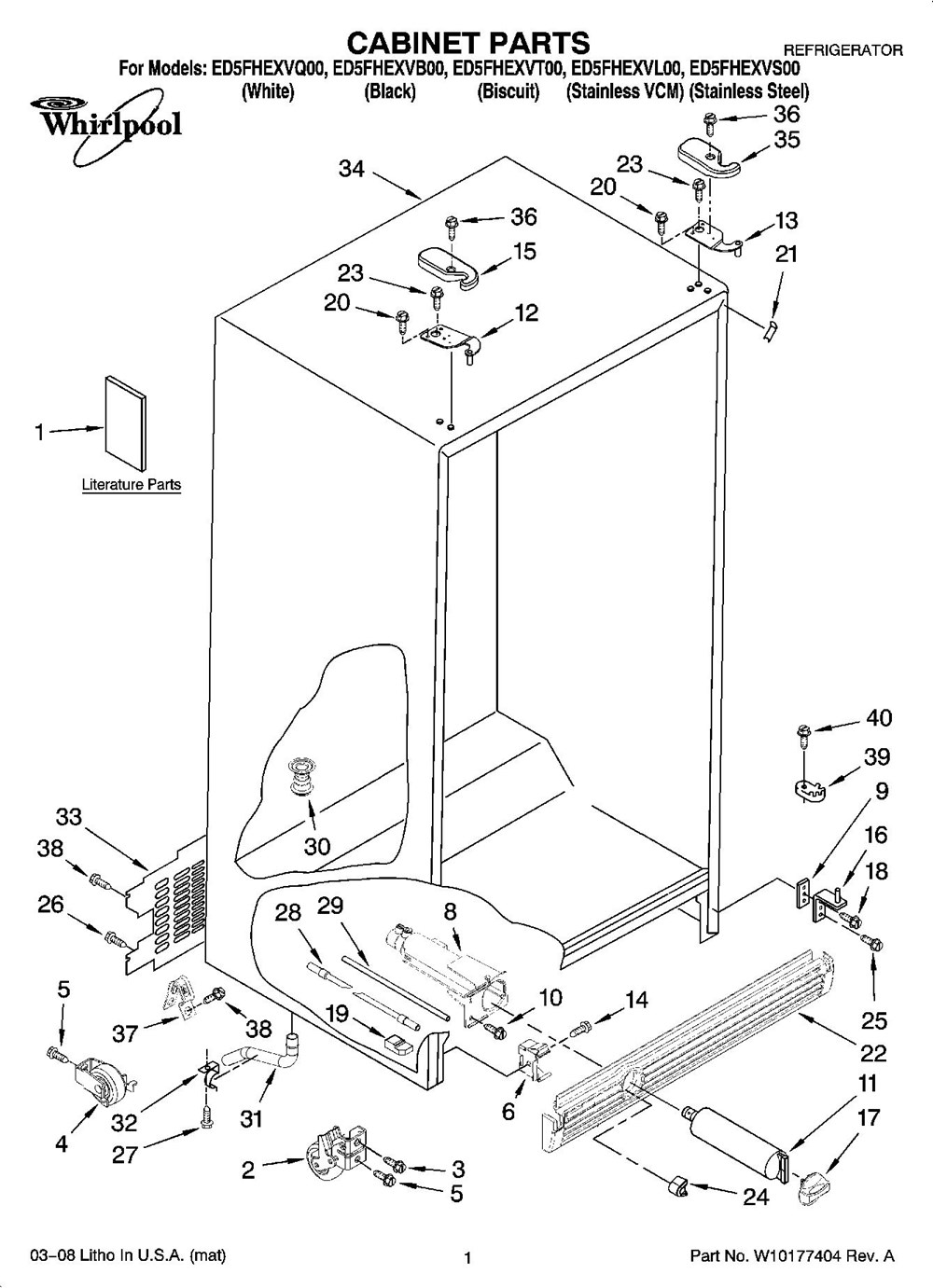 Whirlpool Appliances Wiring Diagram, Whirlpool, Free