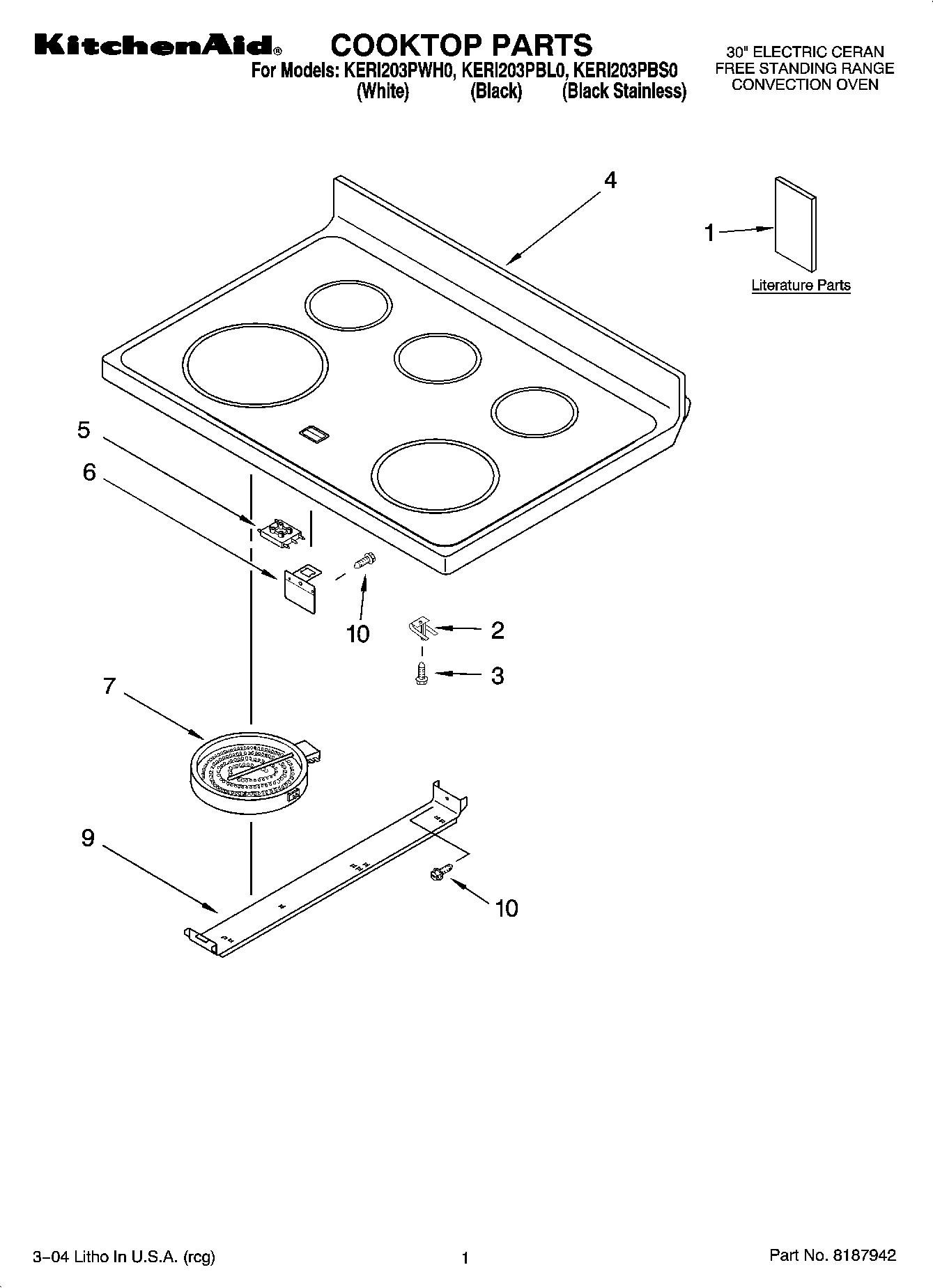Ge Dishwasher Parts Diagram also Kitchenaid Oven Door Parts Diagram furthermore Whirlpool Jenn Air Electric Y04100124 Ap4283838 as well Kenmore Elite Parts Diagram Part 58 in addition Kitchenaid Range Hood. on kitchenaid cooktop replacement parts