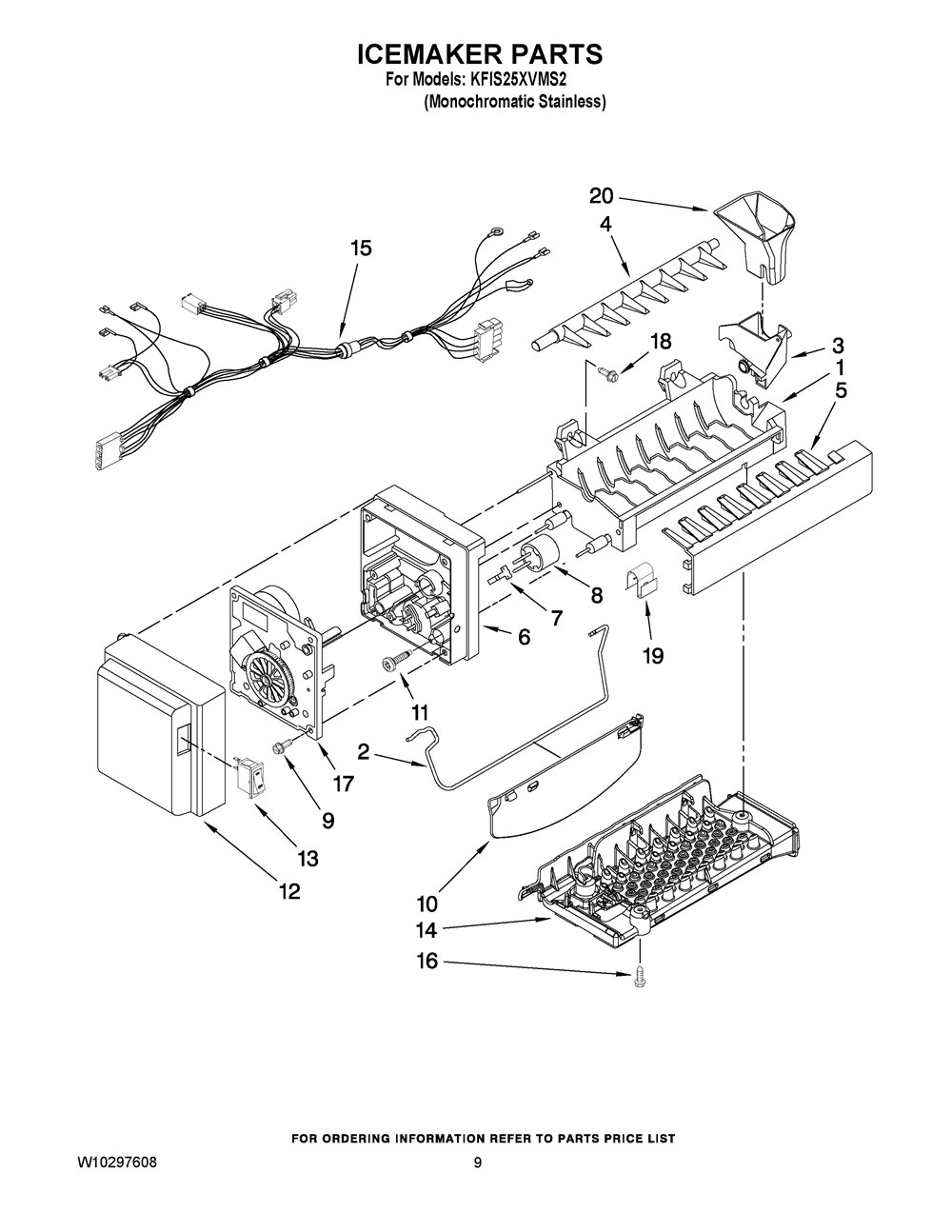 Wiring Database 2020: 26 Whirlpool Refrigerator Parts Diagram