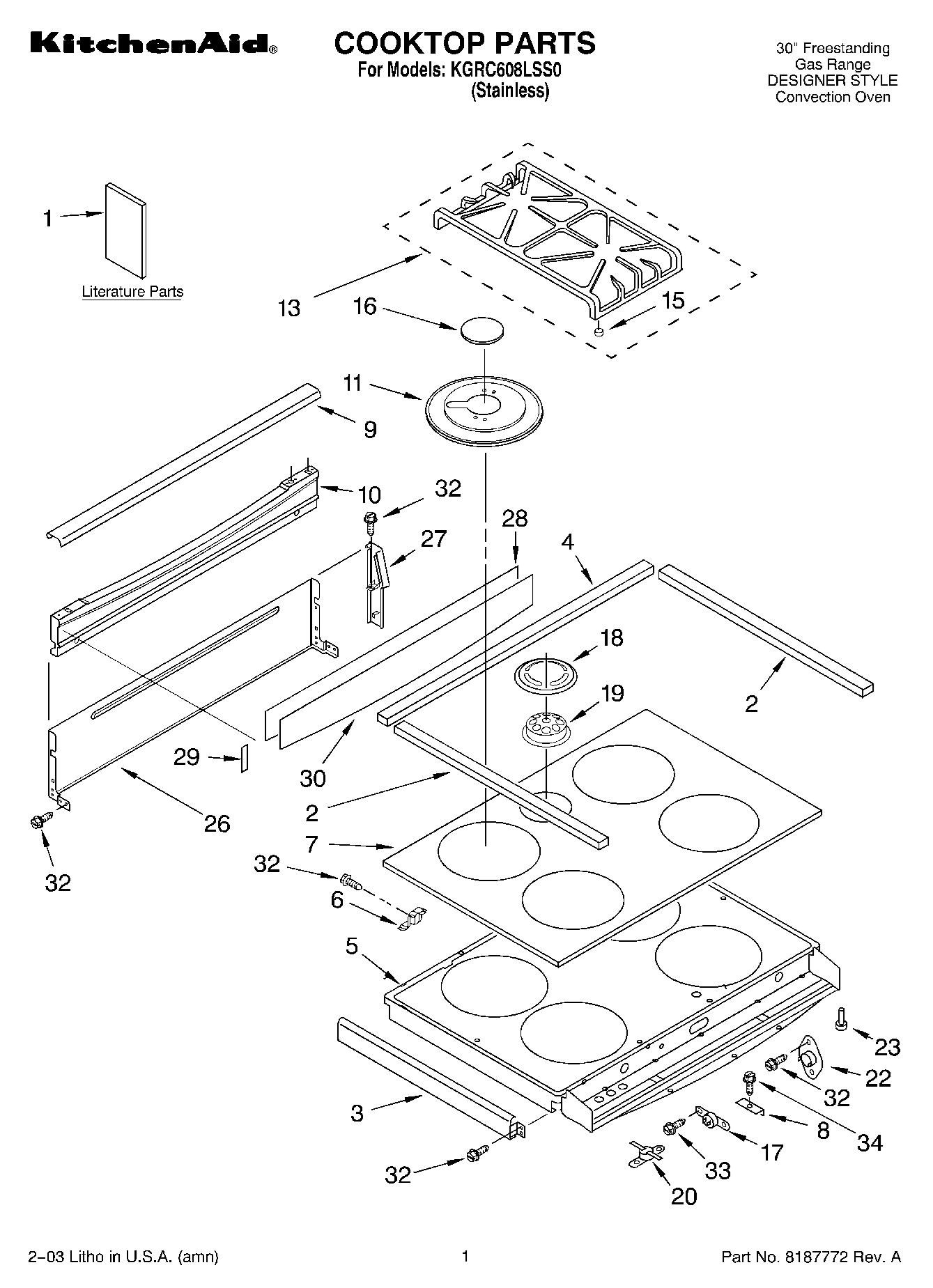 Stunning Kitchenaid Wiring Diagrams Images - Electrical and Wiring ...