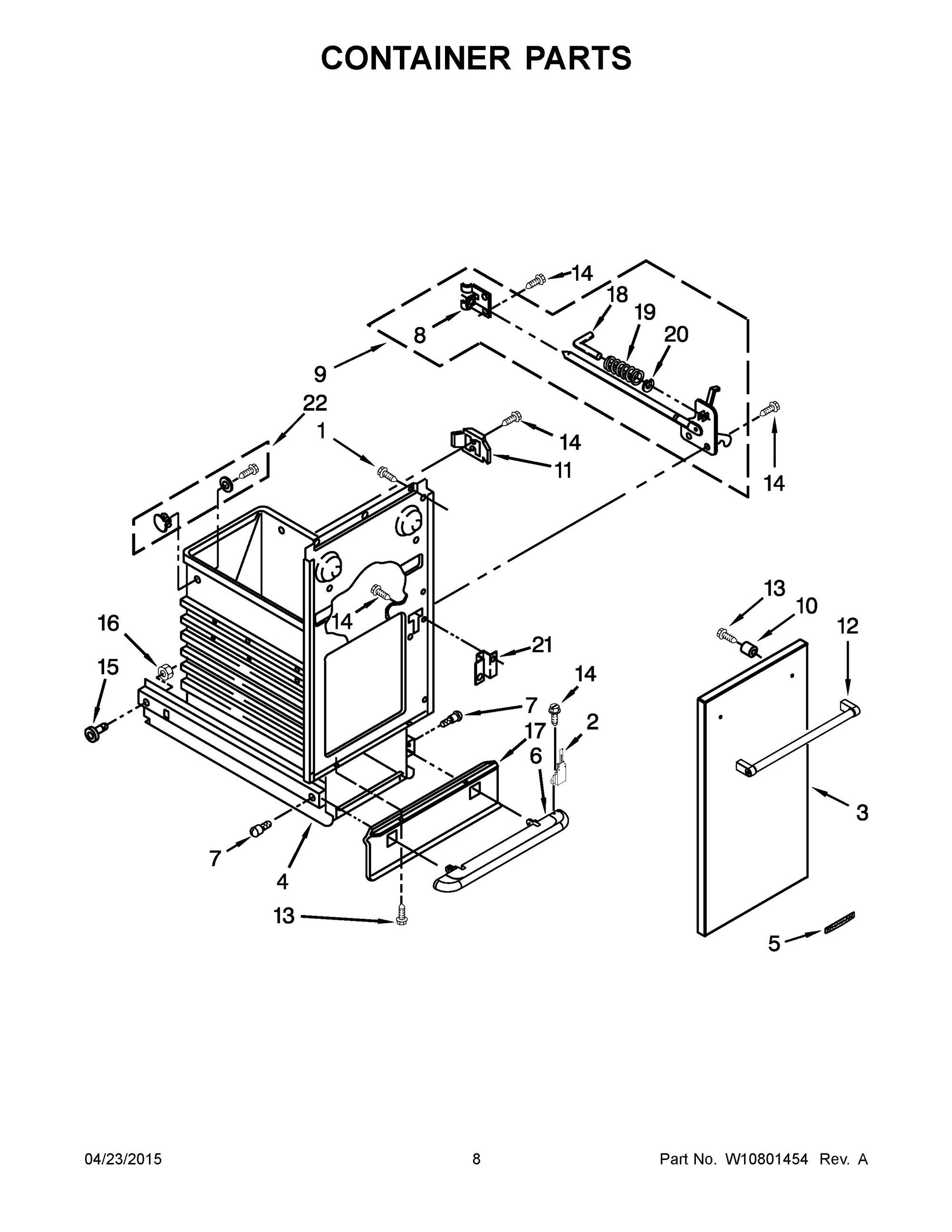 whirlpool trash compactor wiring diagram