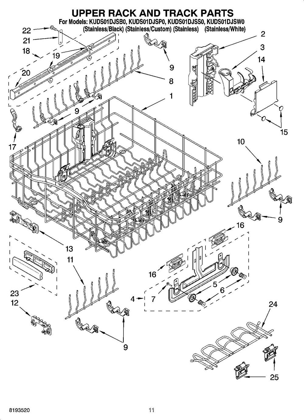 KUDS01DJSS0 | Undercounter Dishwasher | Superba Series ...