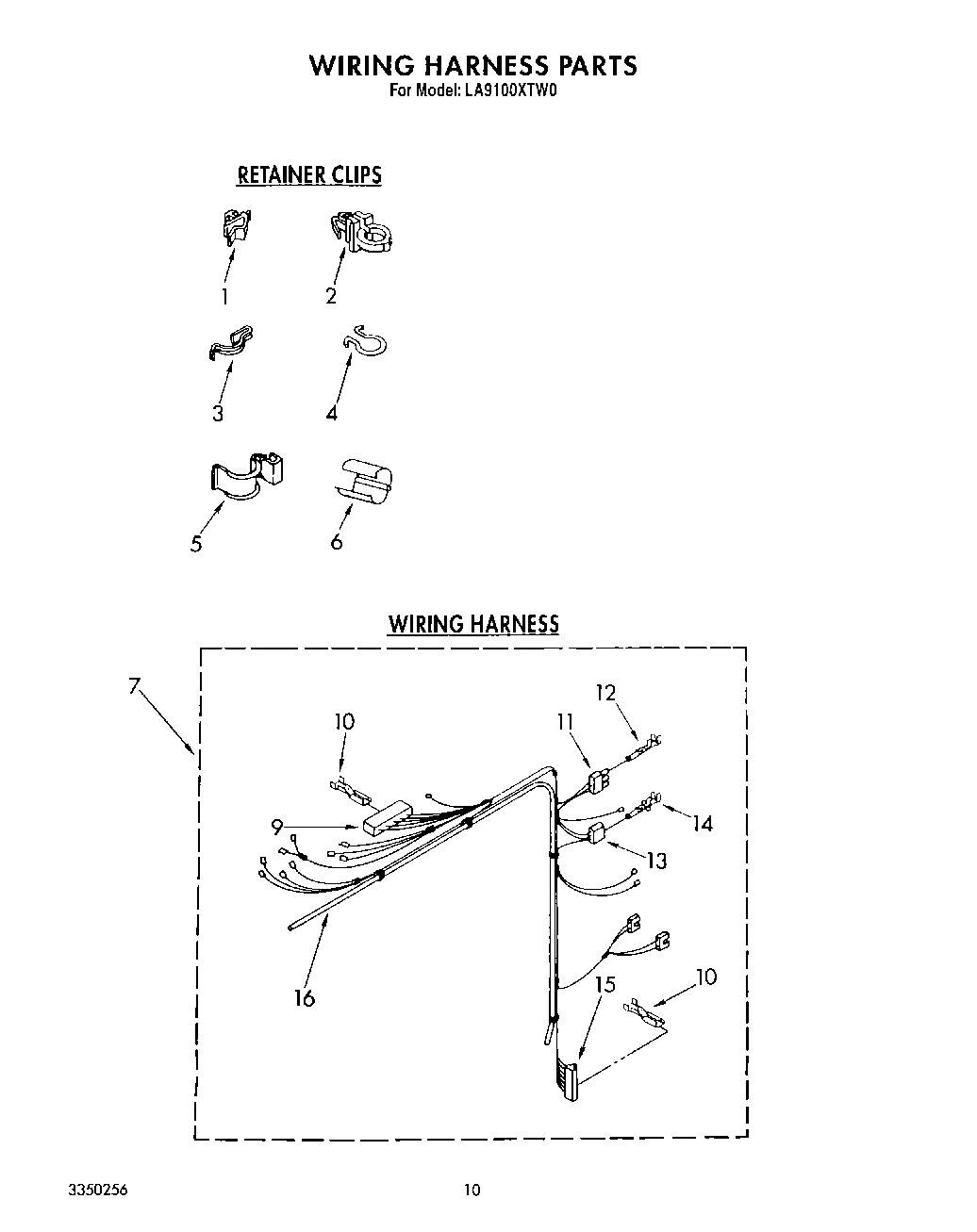 Wiring Harness Clip 90016 Diagram And Parts List For Maytag Washerparts Model Mvwc500vw1 Daves Repair Service New Albany Pennsylvania 570 363 2894 2002 Ford Mustang