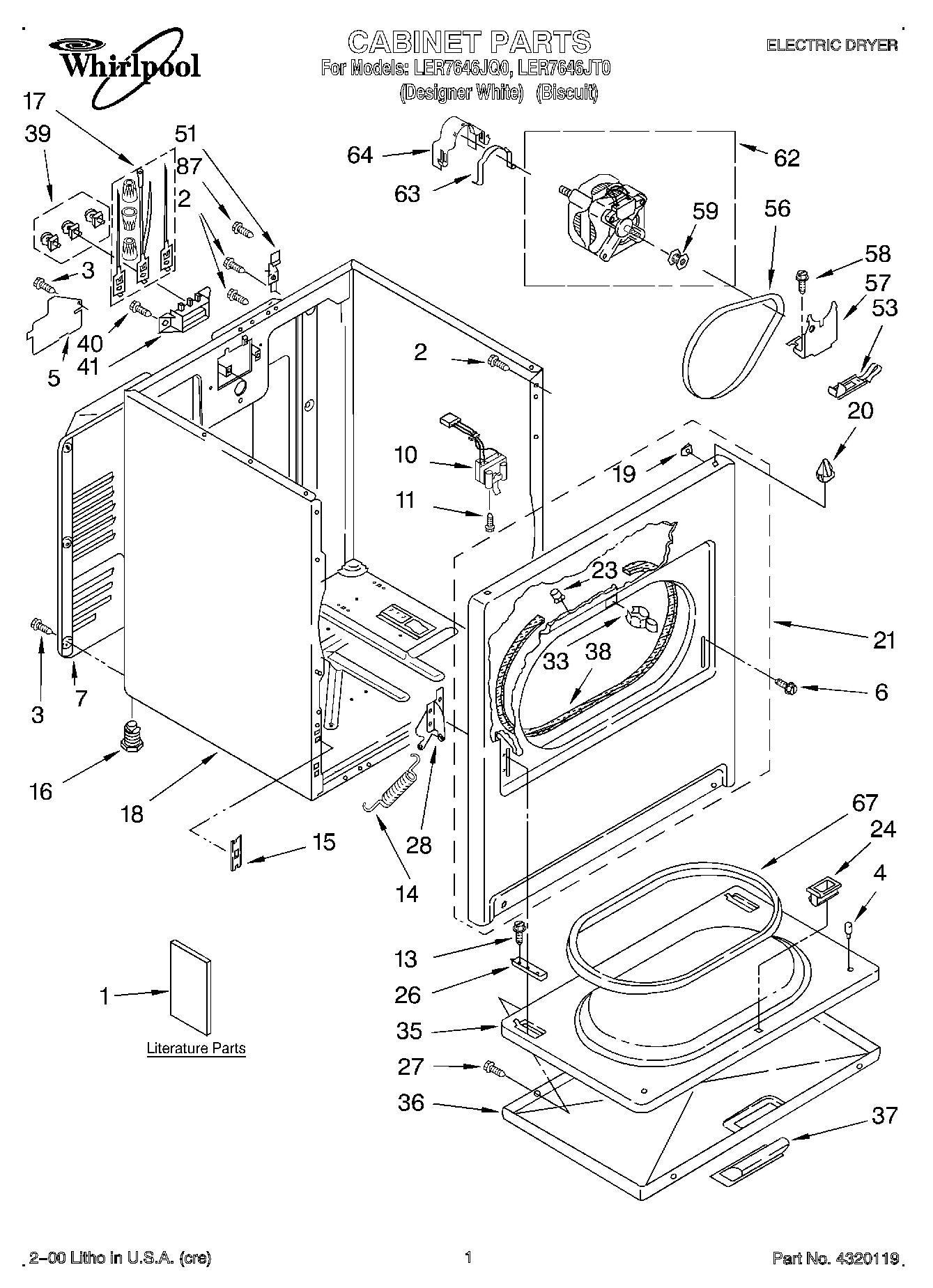 Whirlpool Duet Dryer Wiring Diagram