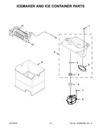 Whirlpool Ice Maker Wiring Diagram - Icemaker And Ice Container Parts - Whirlpool Ice Maker Wiring Diagram