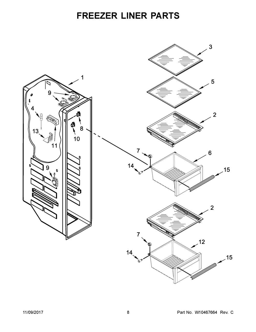 KSC23C8EYY02   Refrigerator   23 Cu. Ft Side-By-Side Architect ... on